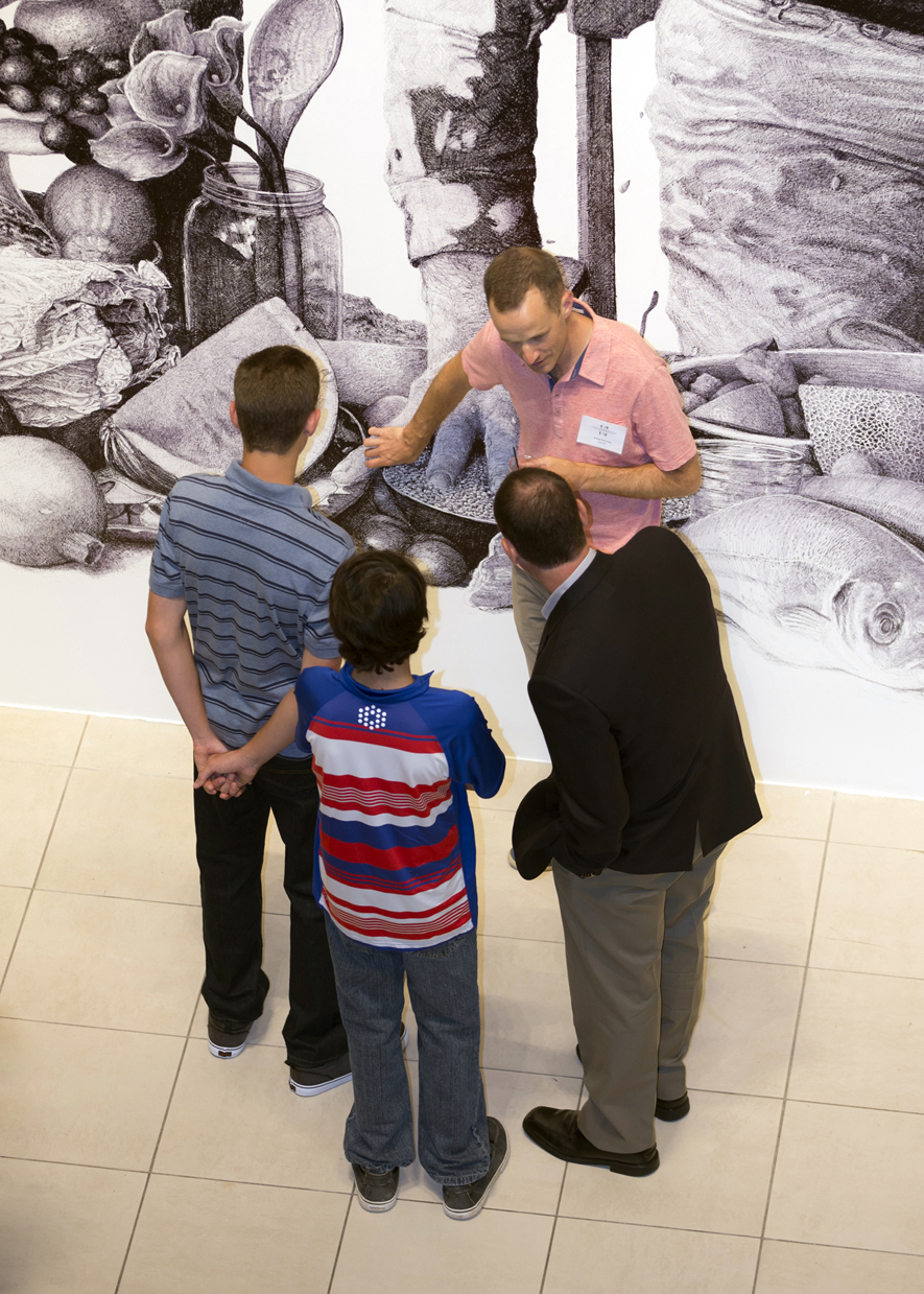 Ethan Murrow Project Atrium Discusses Drawing with Family