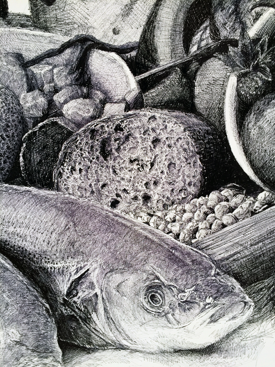 Ethan Murrow Project Atrium Fish Bread Detail f