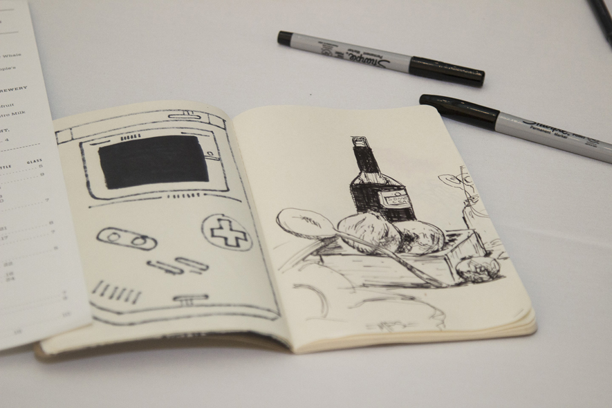 Draw and Drink Still Life Sketchbook