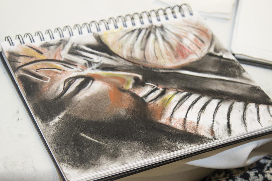 Draw and Drink Sketchbook Pastels