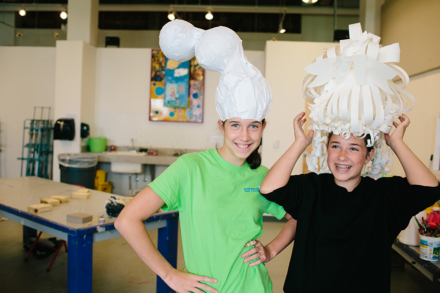 Art Camp Paper Hats 885 full