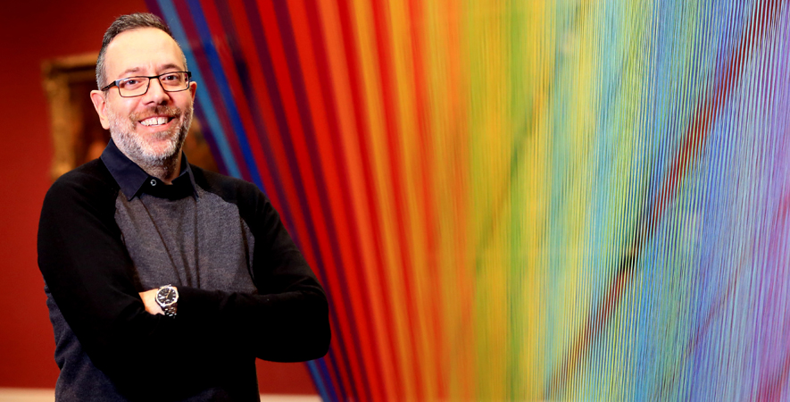 Gabriel Dawe with Plexus No. 35 2016