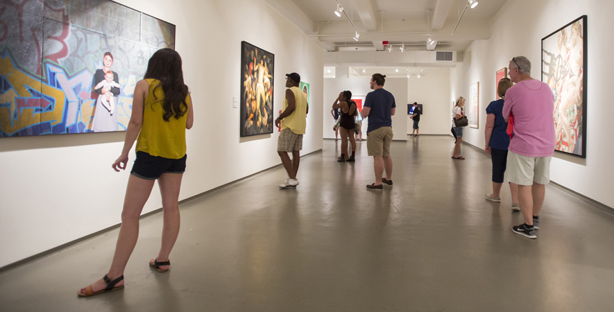 Small Groups and Individuals Look at the Permanent Collection