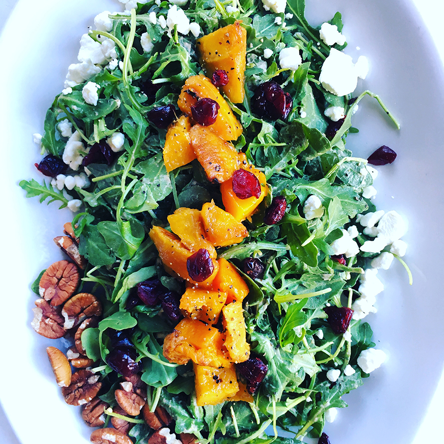 2017 Fall Menu- Butternut Squash Salad