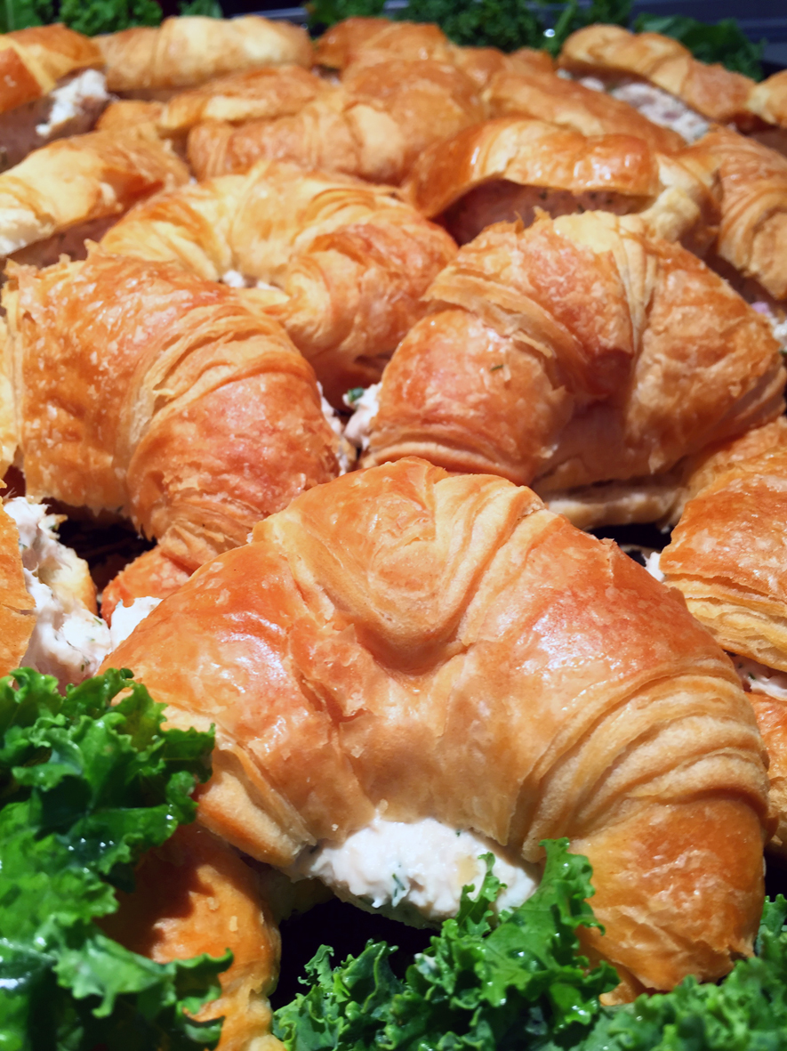 NOLA MOCA Catered Lunch Tuna Salad Mini Croissants